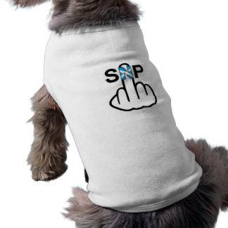 Sacudir da roupa SNP do cão Camiseta