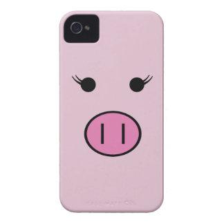 Sadie o porco cor-de-rosa capa para iPhone 4 Case-Mate