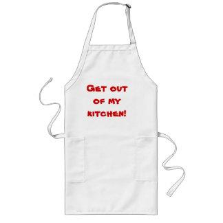 Saia de minha cozinha aventais