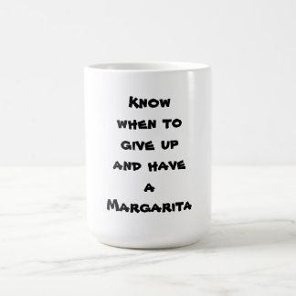 Saiba quando dar acima e ter uma Margarita Caneca De Café