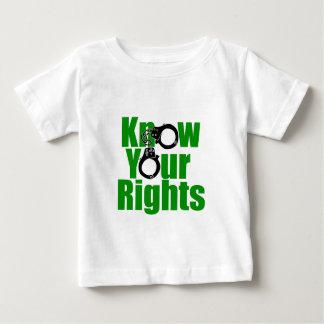 SAIBA SEUS DIREITOS - estado Tshirt