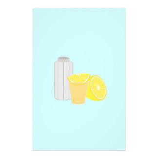 Sal, limão e tequila flyer 13.97 x 21.59cm
