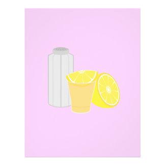 Sal, limão e tequila flyer 21.59 x 27.94cm