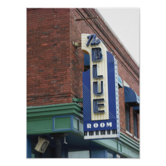 Sala azul histórica - poster de Kansas City