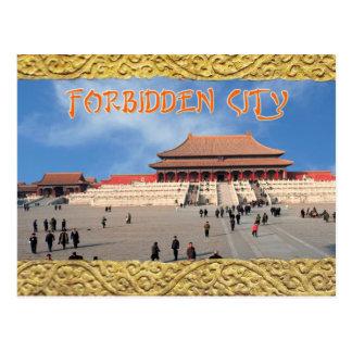 Salão da harmonia suprema, a Cidade Proibida, Cartão Postal