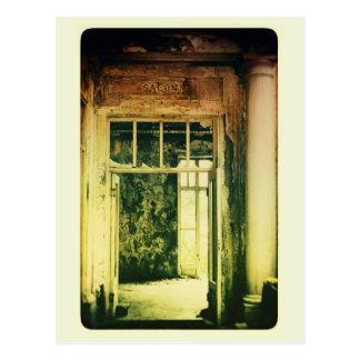 Salão de beleza cartão postal