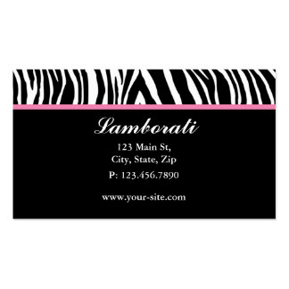 Salão de beleza do cabeleireiro do desenhador de cartão de visita