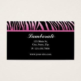 Salão de beleza do cabeleireiro do desenhador de cartão de visitas