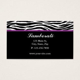 Salão de beleza do cabeleireiro do impressão da cartão de visitas
