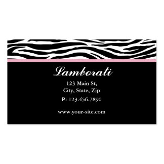 Salão de beleza do cabeleireiro do impressão da cartão de visita