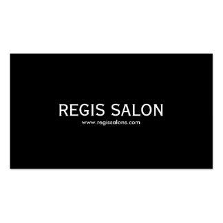SALÃO DE BELEZA do REGIS www regissalons com Cartões De Visitas
