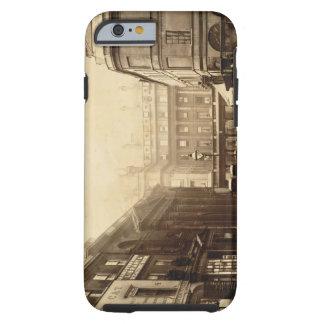 Salas do quadrado e de bomba da abadia, banho, capa tough para iPhone 6