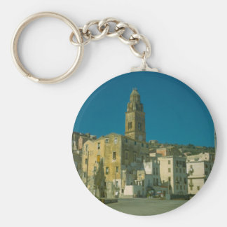 Salerno, igreja e cidade chaveiro