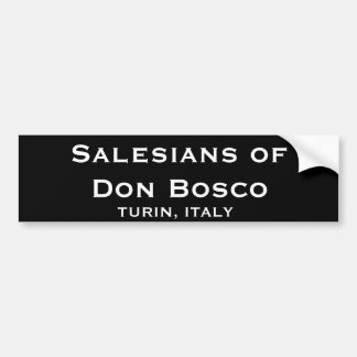Salesians* do autocolante no vidro traseiro de Don Adesivo Para Carro