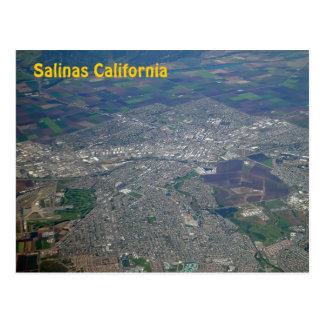 Salinas, cartão da opinião aérea de Califórnia