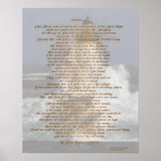Salmos 91 impressão