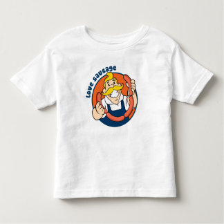 Salsicha do amor tshirt