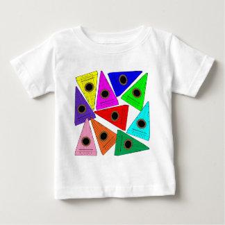 saltério do arco-íris t-shirts