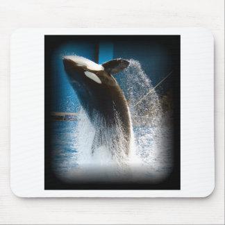 Salto da baleia de assassino mouse pads