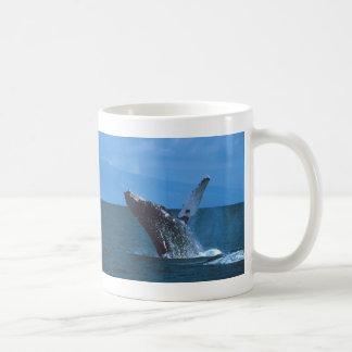 Salto da baleia de Humpback Caneca De Café