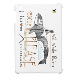 Salva-me a baleia capas para iPad mini