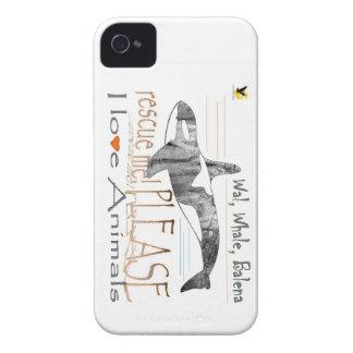 Salva-me a baleia capa iPhone 4