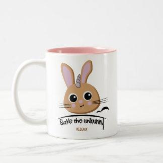 Salvar a caneca de café de Unibunny