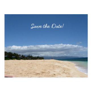 Salvar a data! cartão postal