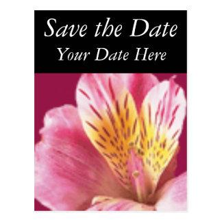 Salvar a data cartão postal