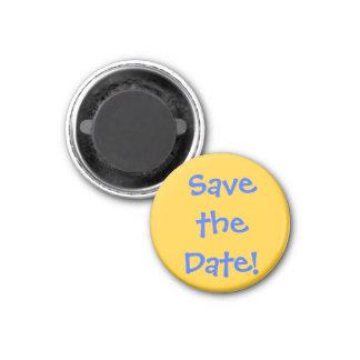 Salvar a data! imãs de geladeira