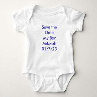 Salvar a data meu bar Mitzvah 01/7/23 Camiseta