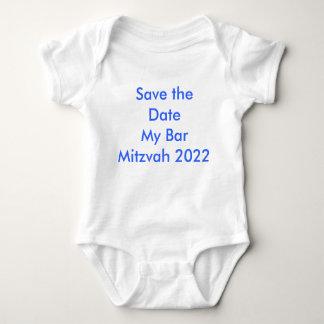 Salvar a data meu bar Mitzvah 2022 Camisetas