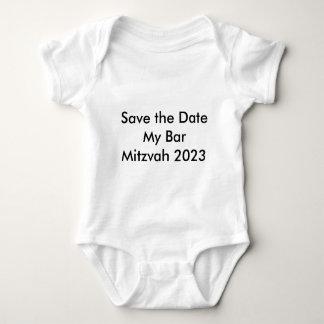 Salvar a data meu bar Mitzvah 2023 T-shirts