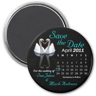 Salvar em abril de 2011 a data, Wedding o anúncio Imãs
