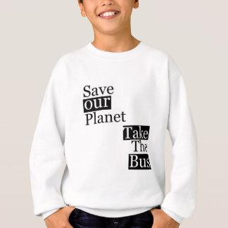 Salvar nosso planeta, tome um ônibus camiseta