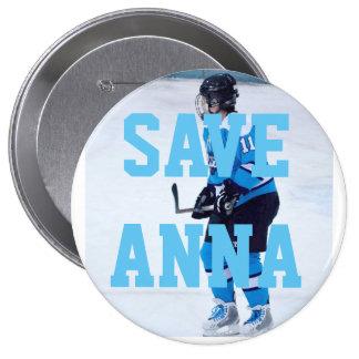 Salvar o botão de Anna Bóton Redondo 10.16cm