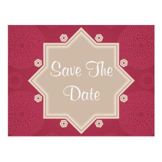 Salvar o cartão da foto do anúncio do casamento da cartões postais