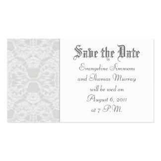 Salvar o detalhe do laço da data   ou do rsvp cartão de visita