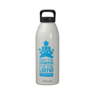 Salvar o drama para a Lama - garrafa de água