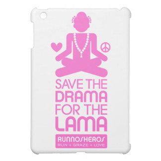 Salvar o drama para a Lama - rosa quente Capa Para iPad Mini