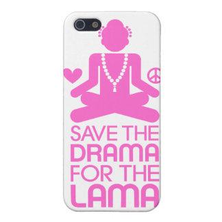 Salvar o drama para a Lama - rosa quente iPhone 5 Capa
