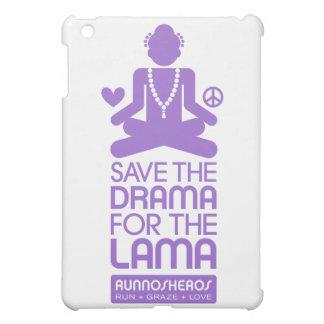 Salvar o drama para a Lama - roxo Capa Para iPad Mini