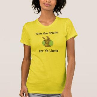 Salvar o drama para o lama de Yo Camisetas