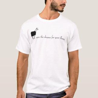 salvar o drama para seu lama! camisetas