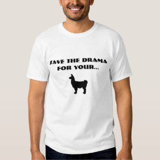 Salvar o drama t-shirt