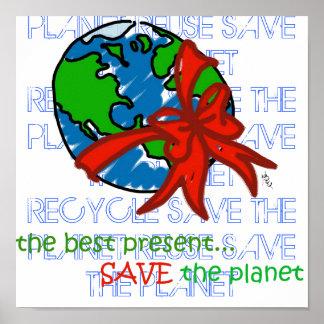 salvar o planeta poster