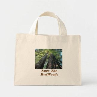 Salvar o saco das sequóias vermelhas bolsa
