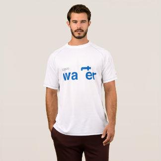 salvar o t-shirt do branco da água