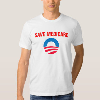 Salvar o tshirt de Medicare Obama