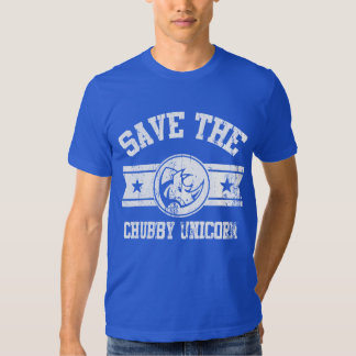 Salvar o unicórnio carnudo camiseta